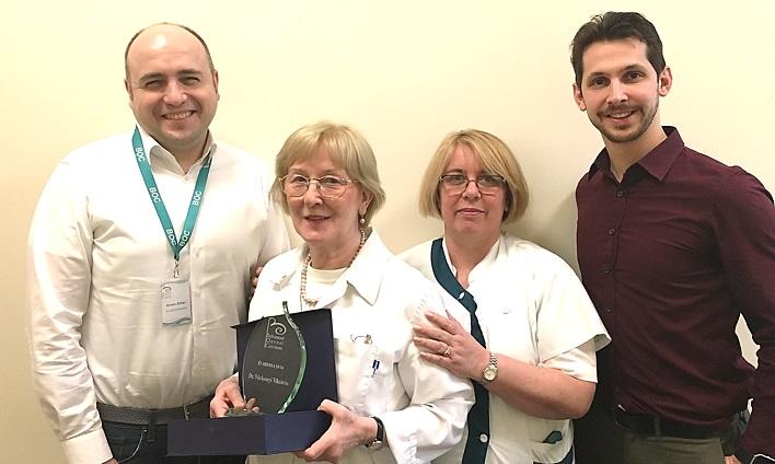 Dr. Várkonyi Viktória lett a BOC ,,Év Orvosa 2016 díj nyertese