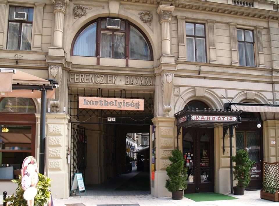 Budapest szívében van a helyünk