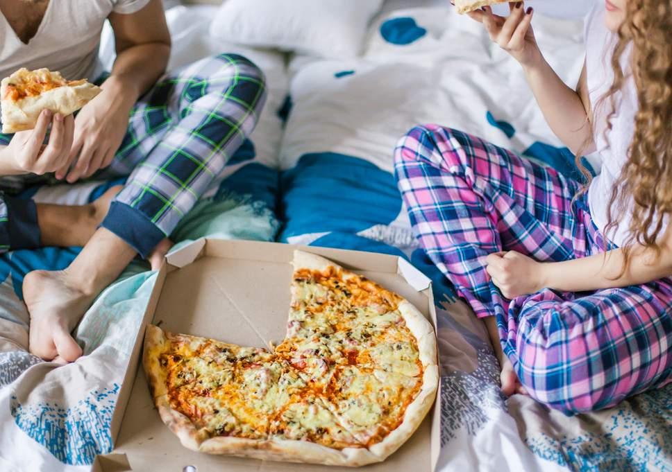 A pizza egészségesebb reggeli, mint a gabonapehely