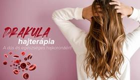 Drakula PRP terápia hajhullás és kopaszodás ellen