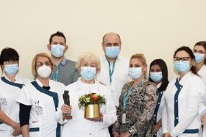 Dr. Várkonyi Viktória köszöntése